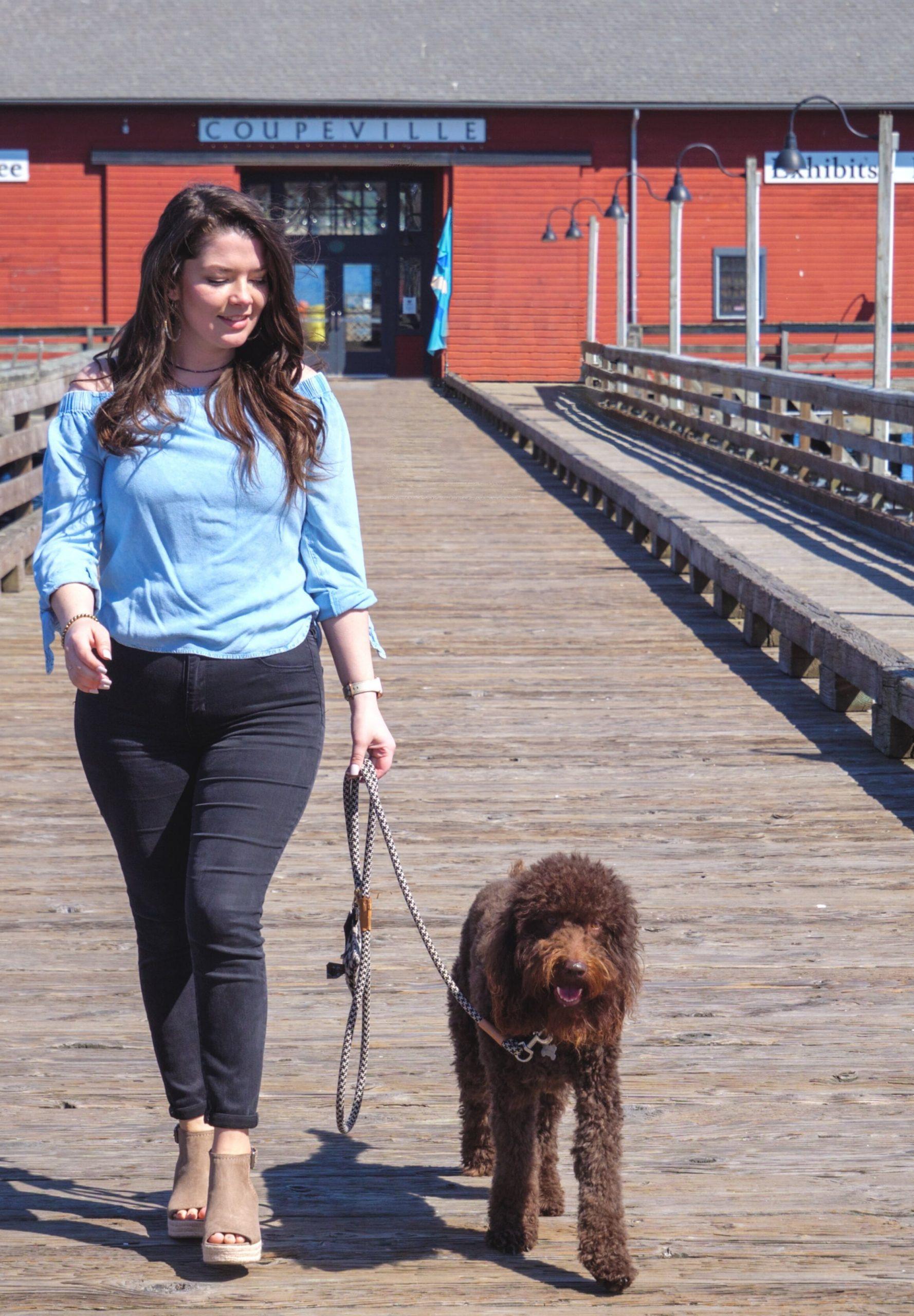 Tori on the Wharf